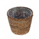 Plant basket Pares round, diameter 27cm, height 22
